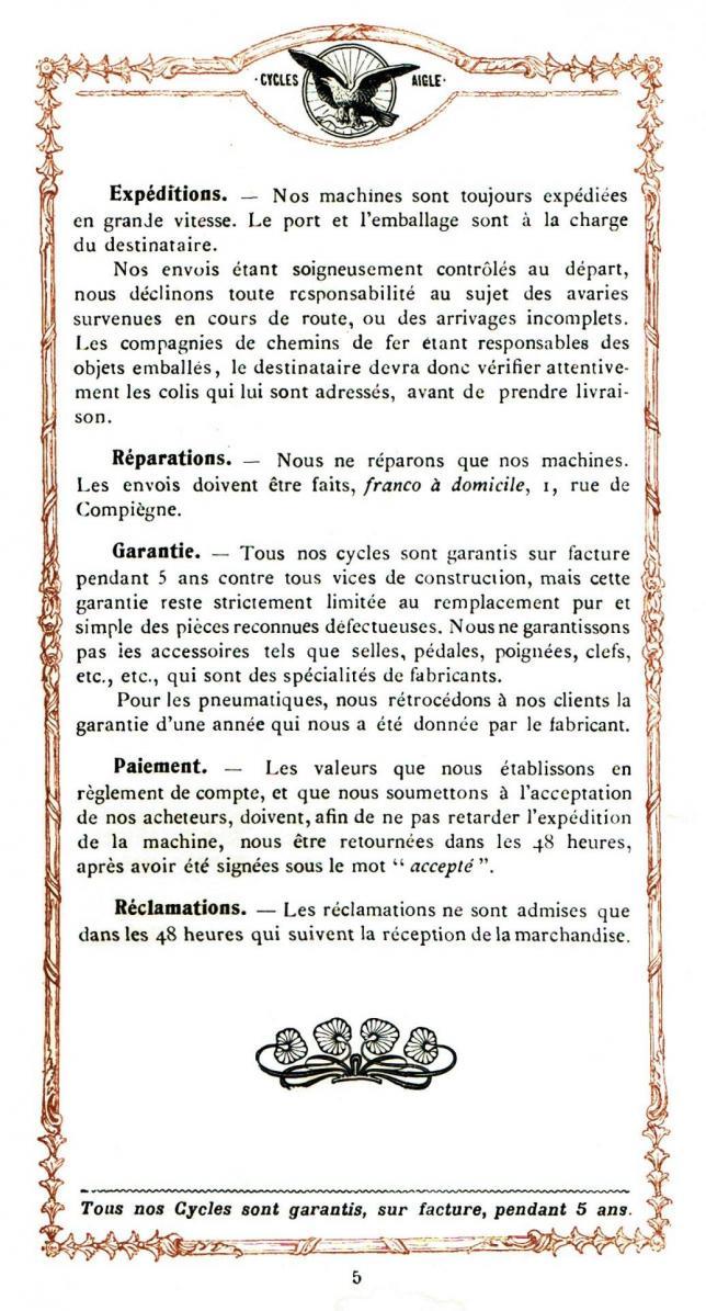 Aigle 1906 5