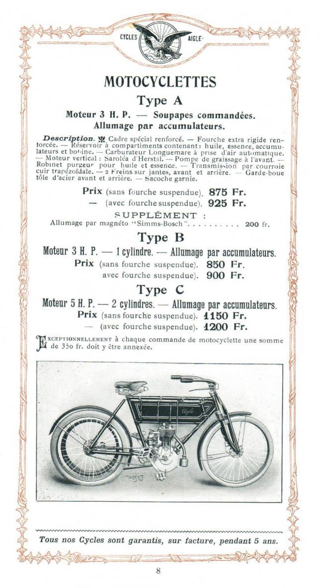 Aigle 1906 6