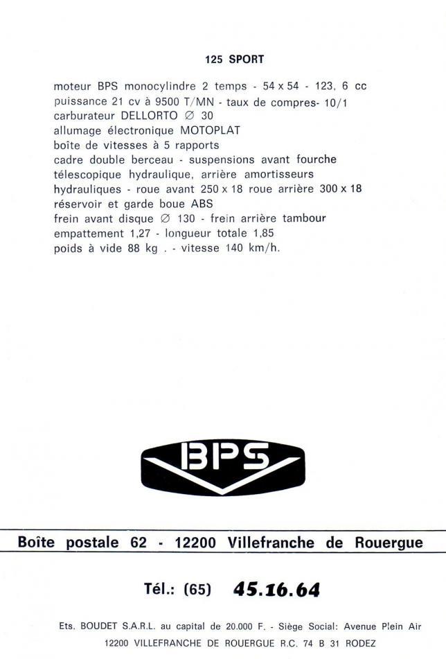 Bps pub sport 125 2