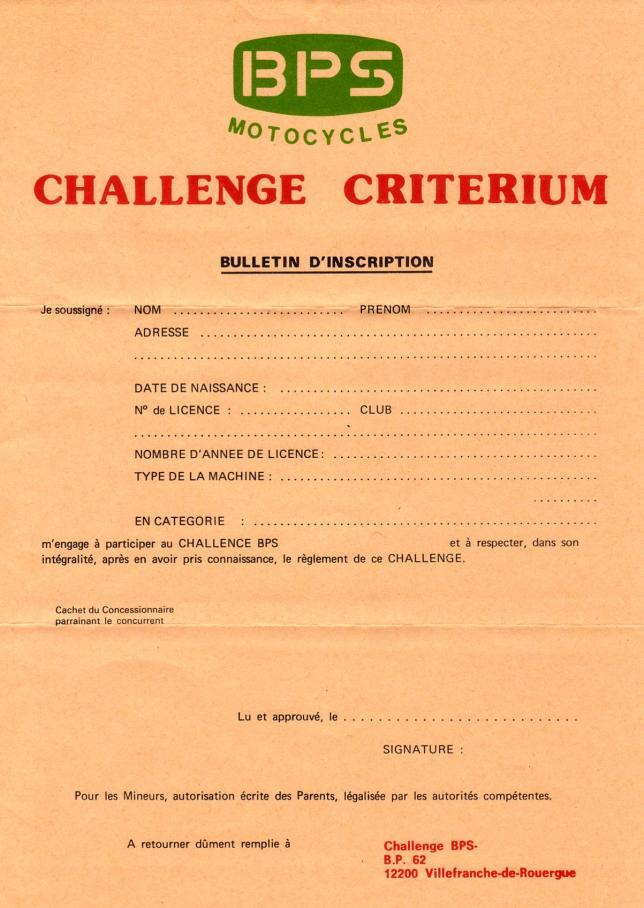 Challenge criterium 1975 3
