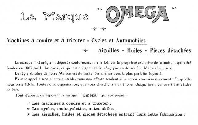 Omega 1906 3