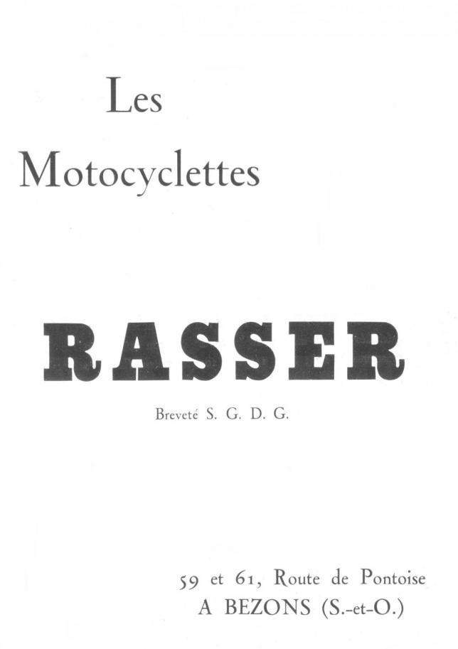 Rasser 1922 1