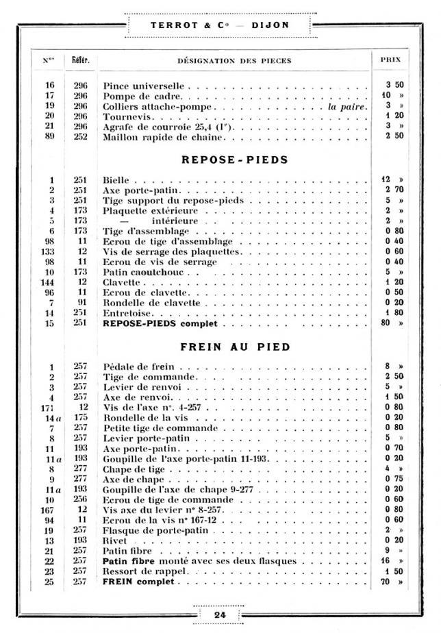 Terrot type b 25